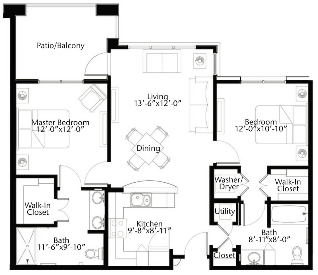 The Frio floor plan image